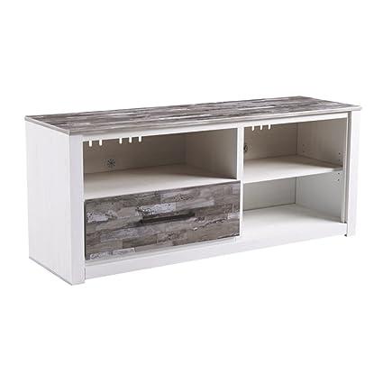 84bd2cd4a6f8 Amazon.com  Ashley Furniture Signature Design - Evanni TV Stand - 59 ...
