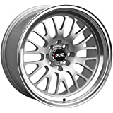 """XXR Wheels 531 Hyper Silver Wheel with Machined Finish and Machined Lip (18x8.5""""/5x100.5mm, +20mm offset)"""