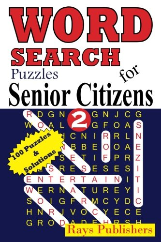 Word Search Puzzles for Senior Citizens 2 (Volume 2)