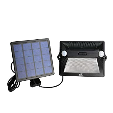 Solar Lights Outdoor,EREMOKI 2000 mAh Solar Motion Sensor Lights with 180 Wide Angle Security Flood Light Easy-to-Install Weather Resistant LED Lighting for Front Door,Garage,Yard