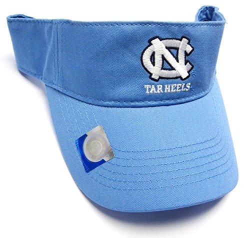 North Carolina Tar Heels UNC NCAA Light Blue Golf Sun Visor Hat Cap Adult Men's Adjustable by Captivating Headwear