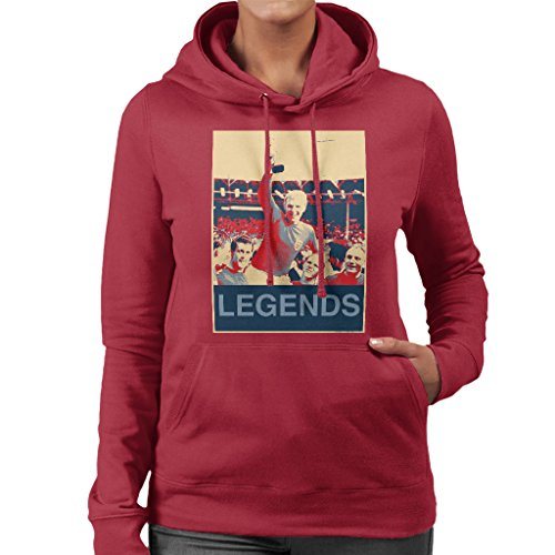 - POD66 1966 World Cup Final England Bobby Moore Jules Rimet Trophy Women's Hooded Sweatshirt