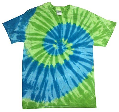 (Colortone Tie Dye T-Shirt XL St. Lucia)