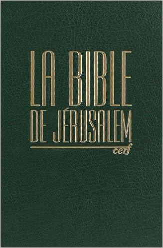 En ligne téléchargement LA BIBLE DE JERUSALEM. : Edition revue et augmentée pdf