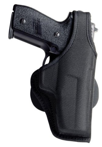 Bianchi Accumold 7500 Paddle Holster Black - Size 1A S&W 640-1 2 (Right Hand)