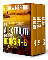 The Alex Troutt Thrillers: Books 4-6 (Redemption Thriller Series Box Set Book 2)