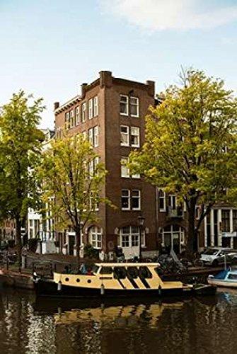Posterazzi Amsterdam Singel Canal II Poster Print by Erin Berzel (12 x 18)