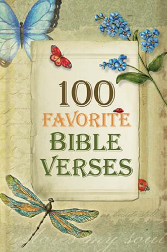 100 Favorite Bible Verses by [Nelson, Thomas]