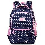 Vbiger School Bag Cute Adorable Backpack for Girls (Royal Blue)