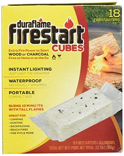 Duraflame COWBOY 01845 18 Count Fire Start Cubes - Cowboys Starter
