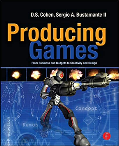 Cover image of the book Producing Games