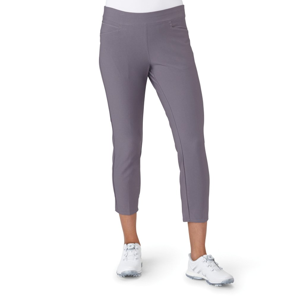 adidas Golf Women's Ultimate Adistar Ankle Pants, Trace Grey, X-Large by adidas