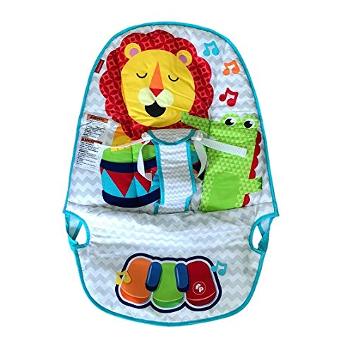 Replacement Seat Pad/Cushion / Cover for Fisher-Price Kick 'n Play Musical Bouncer (FFX45 Lion PAD)
