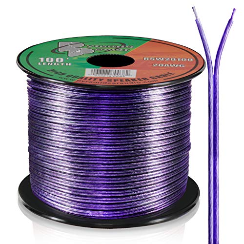 (Pyramid RSW20100 20 Gauge 100 Feet Spool of Speaker Zip)