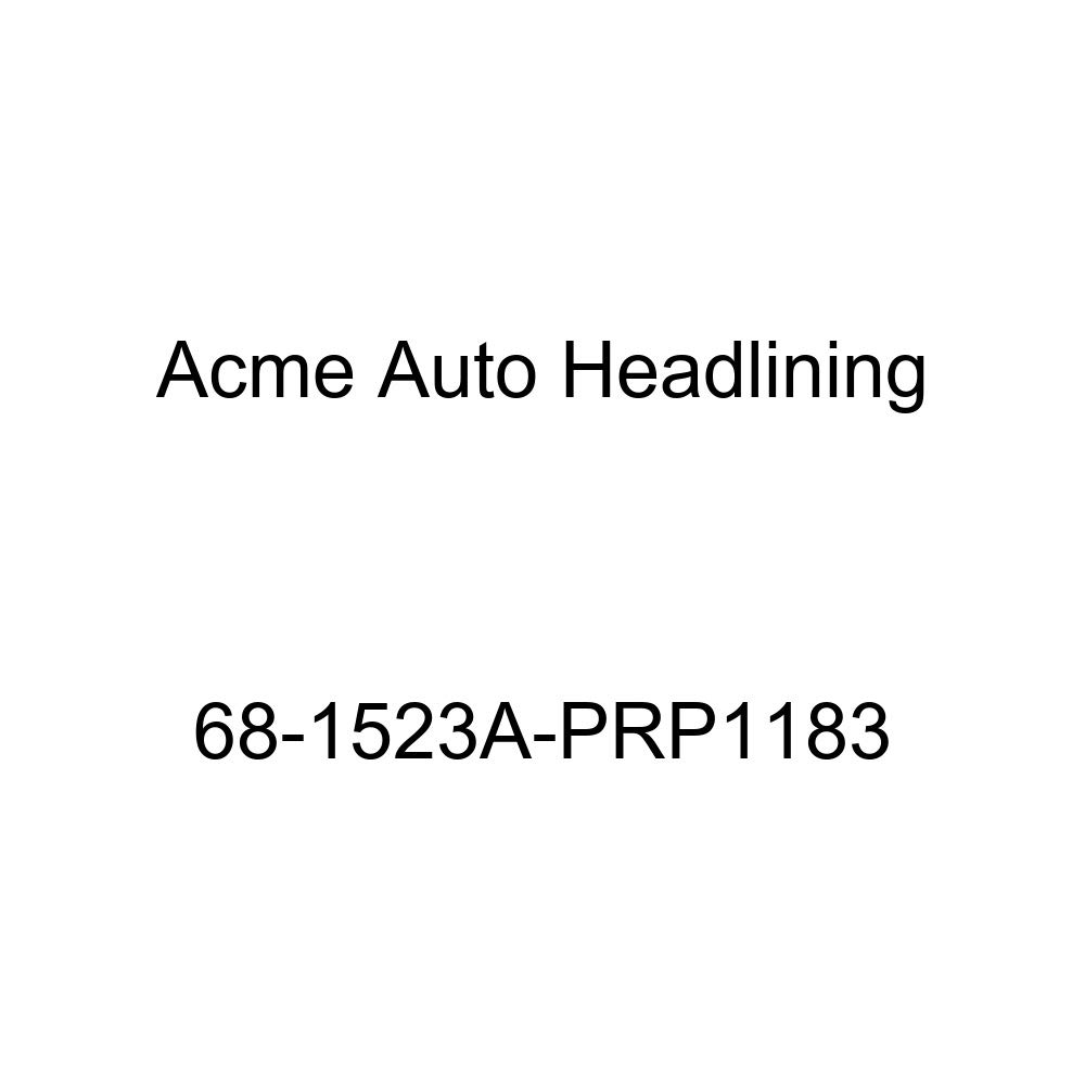 Acme Auto Headlining 68-1523A-PRP1183 Dark Blue Replacement Headliner Pontiac GTO Lemans /& Tempest 2 Door Coupe /& Hardtop 6 Bow