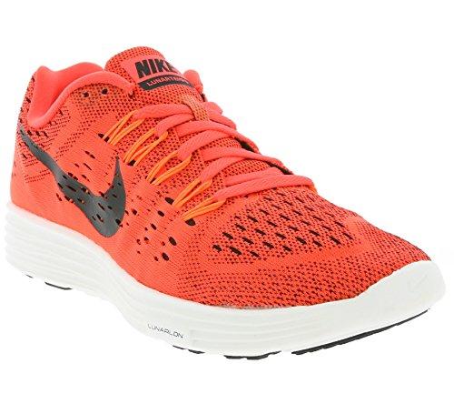 Nike LunarTempo Herren Laufschuhe Orange / Schwarz / Weiß (Bright Crimson / Black-Smmt Wht)