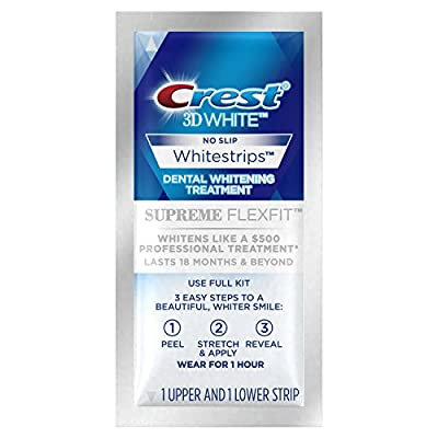 Crest 3D White Whitestrips Supreme Flexfit Teeth Whitening Kit