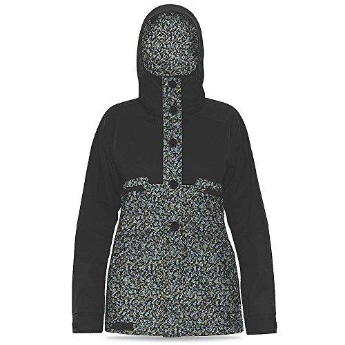 Dakine Womens Northlands Jacket, Color: Blackripley, Size: L