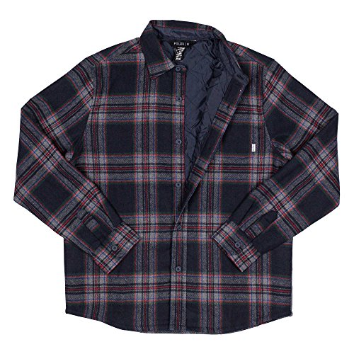 L Poler Tonio Shirt Jacket Navy TUw7qICw