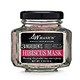 S.W. Basics Organic Hibiscus Green Clay Detoxifying Face Mask, Absorbs and Removes Impurities from the Skin, 2.0 oz