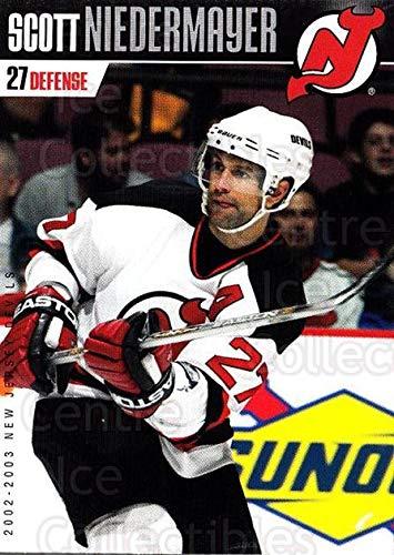 ((CI) Scott Niedermayer Hockey Card 2002-03 New Jersey Devils Team Issue 21 Scott Niedermayer)