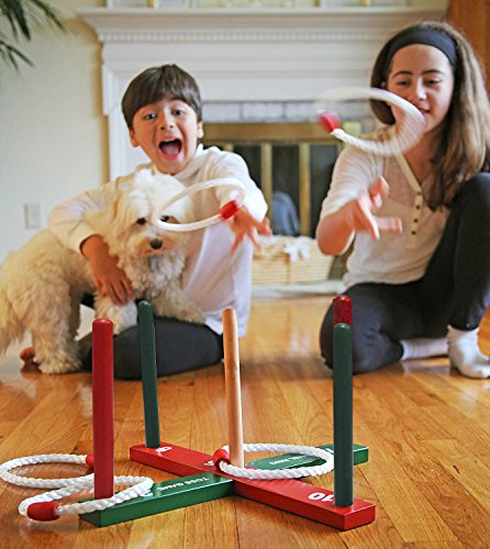 Cheerwing wooden ring toss kids adults games improve eye for Fine motor activities for adults