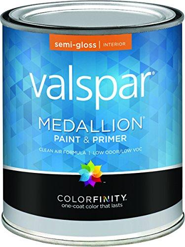 - Medallion 27-2400 QT 1 Qt White Medallion 100% Acrylic Interior Semi Gloss Paint