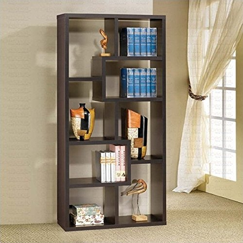 Coaster Fine Furniture 800264 Contemporary Cube Bookcase