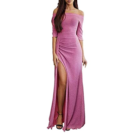 27a58c0dd8ac Image Unavailable. Image not available for. Color  Kshion Women s Dress Off  Shoulder ...