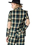 The Styles Plaid Casual Blazer, Green-Yellow, Large