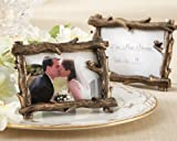 ''Scenic View'' Tree-Branch Place Card/Photo Holder - Set of 24