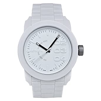 ae229142392e 5134V5HVg L. UX342. reloj diesel blanco hombre