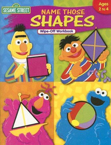 Read Online Name Those Shapes (Sesame Street) PDF