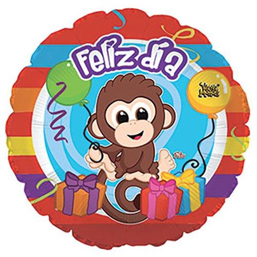CTI Balloons Foil Balloon 117067 Feliz Dia 17 Multicolor