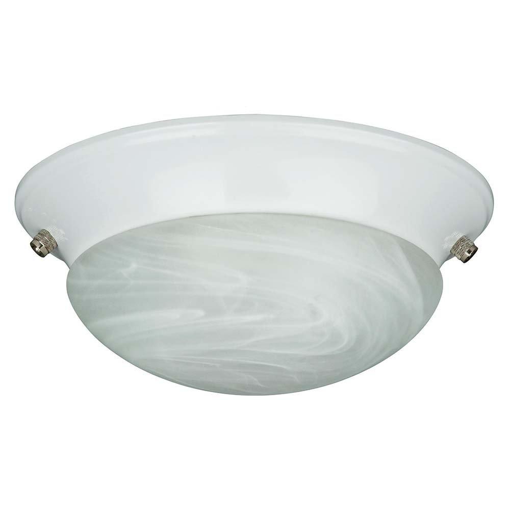 サンセット照明f7761 – 53ファンライトキットwith Fauxアラバスターツイストのガラス、サテンニッケル仕上げ B00KS4V3N6