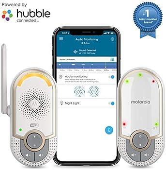 Motorola Portable WiFi Smart Intercom and Night Light for Child