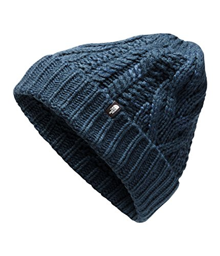 (The North Face Unisex Cable Minna Beanie Blue Wing Teal One Size)