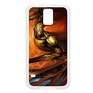Nocturne-004 League of Legends LoL For Case Samsung Galaxy S4 I9500 Cover - Plastic White