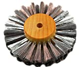 Steel Wire Brush Strands .003'' X 3'' Diameter Straight 3 Row