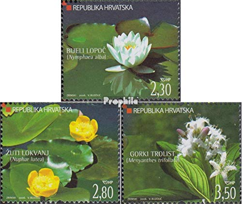 Croatia 779-781 (Complete Issue) 2006 Wetlands (Stamps for Collectors)