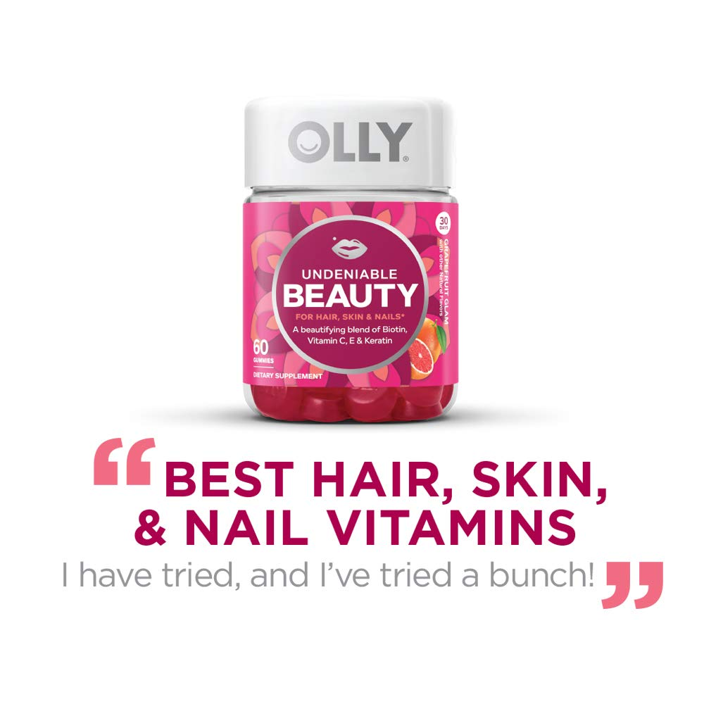 Olly Undeniable Beauty Gummy 30 Day Supply 60 Gummies