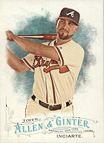 2016 Topps Allen and Ginter Baseball #33 Ender Inciarte Atlanta Braves