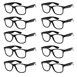 WHOLESALE UNISEX RETRO STYLE BULK LOT PROMOTIONAL GEEK NERD EYEWEAR GLASSES