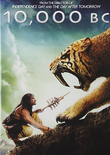10,000 B.C. -  DVD, Rated PG-13, Roland Emmerich