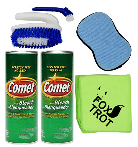 Comet Cleaner Total Kitchen And Bathroom Cleaner Kit Two