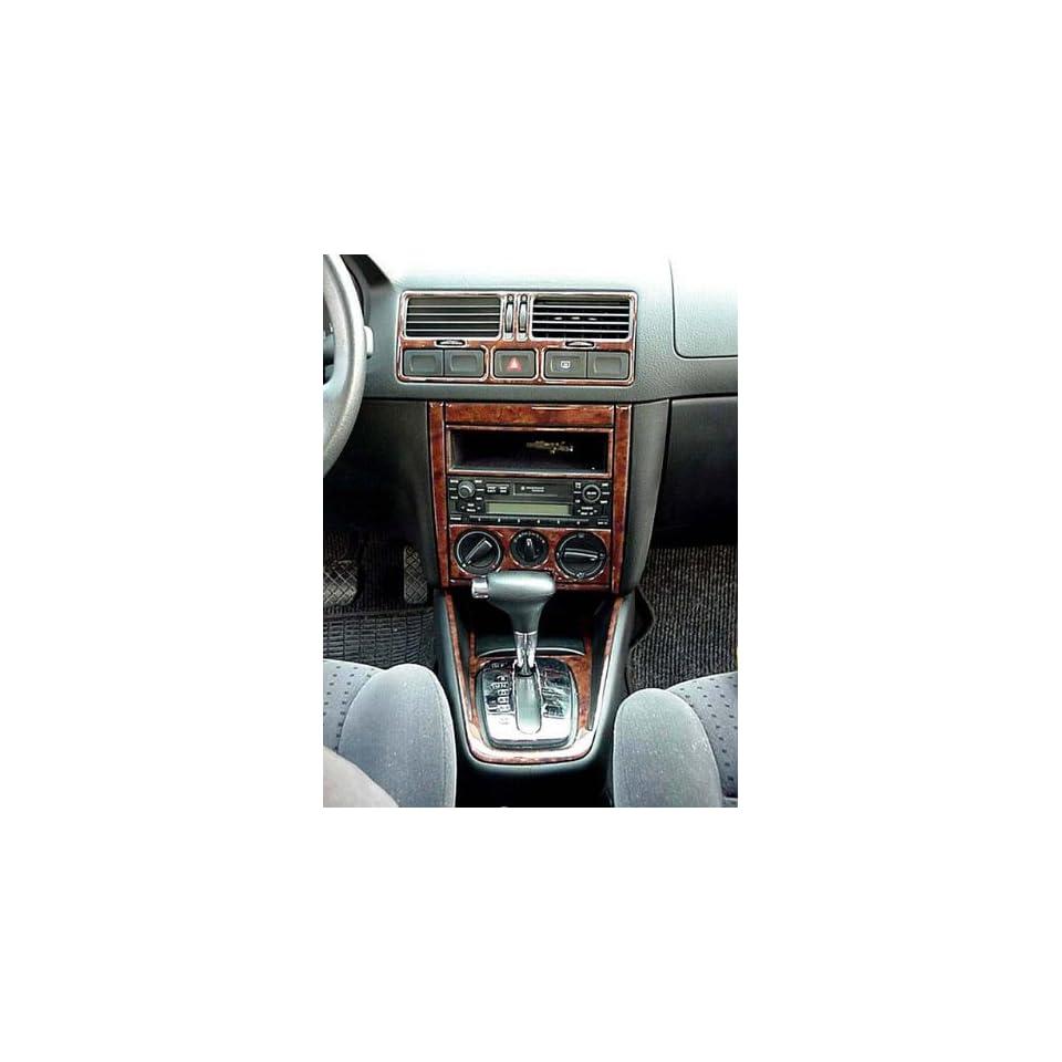 VOLKSWAGEN JETTA INTERIOR WOOD DASH TRIM KIT SET 1999 2000 2001 2002 2003 2004 2005 Automotive