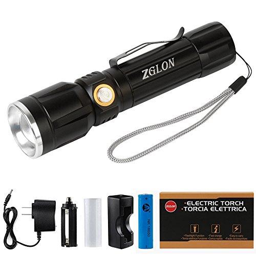 Zglon Flashlights Rechargeable Adjustable Flashlight product image
