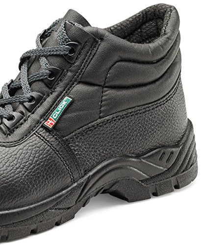 Click Composite Chukka Safety Boot Black S3 - Size 6