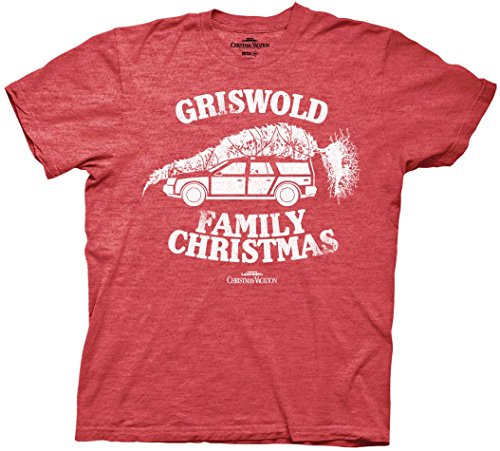 National Lampoon Griswold Family Christmas Vacation  Mens T-shirt (Medium) (Family Christmas Clothes)
