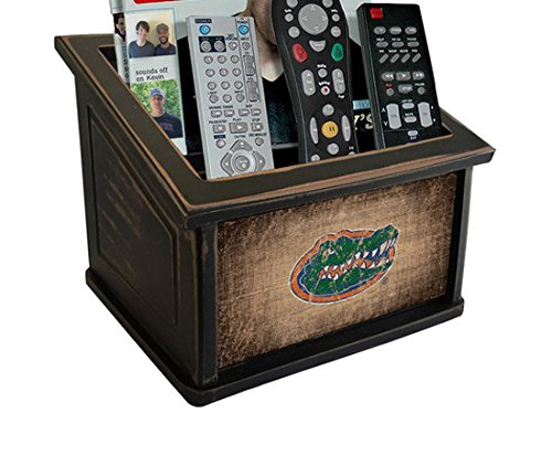 University Florida Wood (Fan Creations C0765-Florida University of Florida Woodgrain Media Organizer, Multicolored)